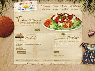 Thumbnail do site Restaurante Cabana do Sol