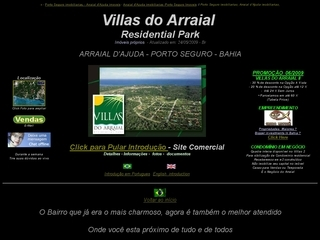 Thumbnail do site Imobiliárias Villas do Arraial