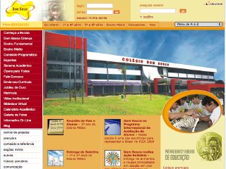 Thumbnail do site Colégio Dom Bosco