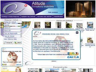 Thumbnail do site Atitude Consultoria Imobiliária