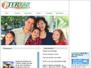 Thumbnail do site Terras Empreendimentos Imobiliários