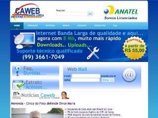 Thumbnail do site Caweb Telecomunicações