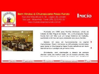 Thumbnail do site Churrascarias Passo Fundo