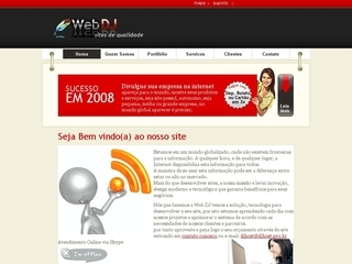 Thumbnail do site Web DJ
