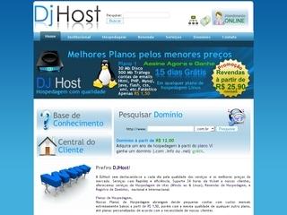 Thumbnail do site DJHost Hospedagem de Sites