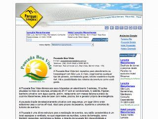 Thumbnail do site Pousada Boa Vista