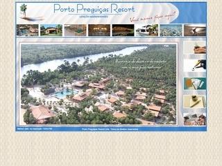 Thumbnail do site Porto Preguiças Resort
