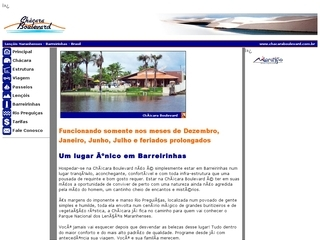 Thumbnail do site Pousada Chácara Boulevard