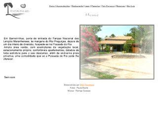 Thumbnail do site Pousada do Rio