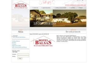 Thumbnail do site Hotel Balsas