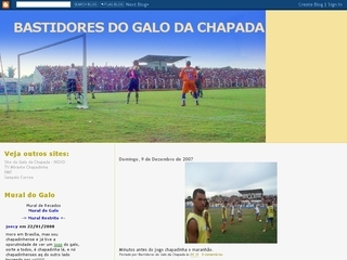 Thumbnail do site Bastidores do Chapadinha FC