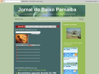 Thumbnail do site Jornal do Baixo Parnaiba