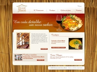 Thumbnail do site Restaurante Dona Maria