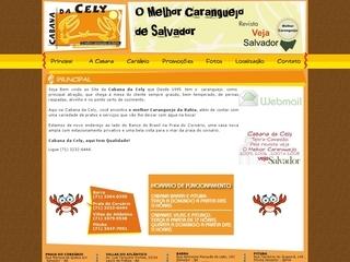 Thumbnail do site Cabana da Cely