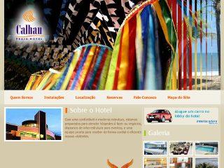 Thumbnail do site Calhau Praia Hotel