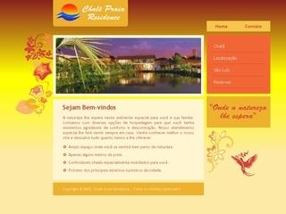 Thumbnail do site Chale Praia Residence