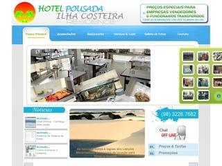 Thumbnail do site Hotel pousada Ilha Costeira Residence