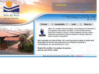 Thumbnail do site Chalés Vila do Mar