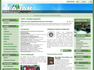 ... .do-brasil.biz] : FAJAR - Faculdade Jaguariaíva - Jaguariaíva, PR