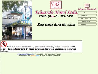 Thumbnail do site Eduardo Hotel Ltda.