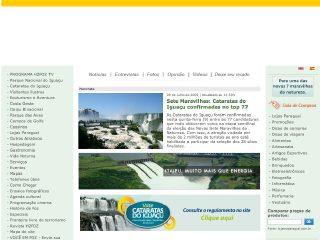 Thumbnail do site H2FOZ.com.br - Portal de Turismo e Informações de Foz do Iguaçu