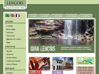 Thumbnail do site Guia Lençóis - Chapada Diamantina