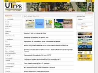 Thumbnail do site UTFPR - Universidade Tecnológica Federal do Paraná