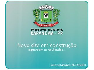 Thumbnail do site Prefeitura Municipal de Capanema