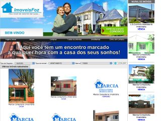 Thumbnail do site Imoveis Foz