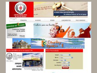 Thumbnail do site Centro Imobiliário de Foz do Iguaçu