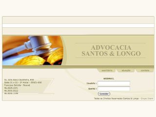 Thumbnail do site Advocacia Santos & Longo