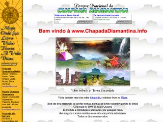 Thumbnail do site Parque Nacional da Chapada Diamantina