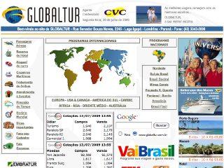 Thumbnail do site Globaltur Viajens e Turismo