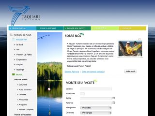 Thumbnail do site Taquari Turismo