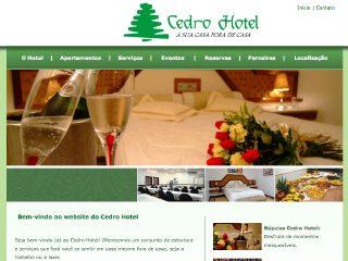 Thumbnail do site Cedro Hotel Ltda