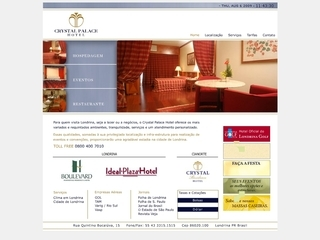 Thumbnail do site Crystal Palace Hotel