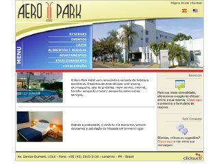 Thumbnail do site Hotel Aero Park