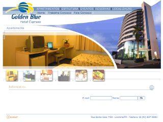 Thumbnail do site Golden Blue Hotel Express