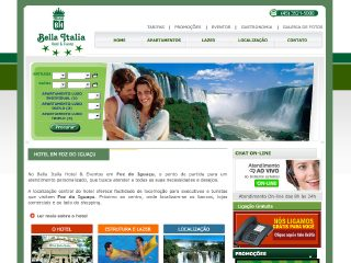 Thumbnail do site Hotel Bella Italia ****