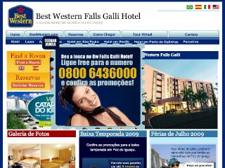 Thumbnail do site Hotel Best Western Falls Galli Hotel