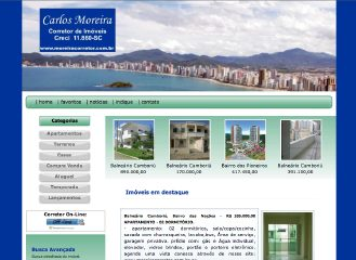 Thumbnail do site Carlos Moreira Corretor de Imóveis
