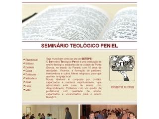 Thumbnail do site Seminário  Teológico Peniel - SETEPE