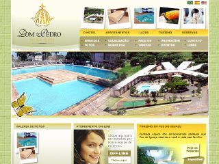 Thumbnail do site Dom Pedro Palace Hotel