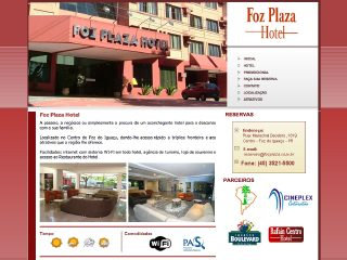 Thumbnail do site Foz Plaza Hotel