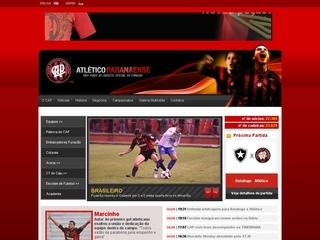Thumbnail do site Clube Atlético Paranaense