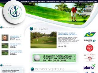 Thumbnail do site FPRG - Federação Paranaense de Golfe