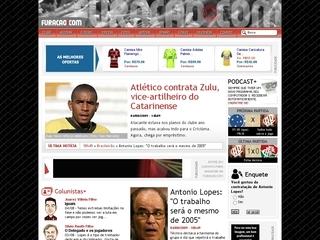 Thumbnail do site Furacao.com - O Melhor do Atlético na Internet