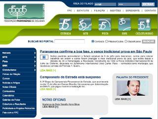 Thumbnail do site FPC - Federação Paranaense de Ciclismo