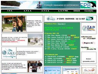 Thumbnail do site FPB - Federação Paranaense de Bodyboarding