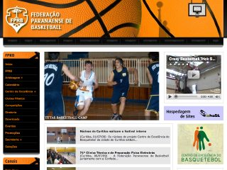 Thumbnail do site FPrB - Federação Paranaense de Basketball